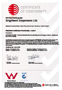 Watermark approval certificate image