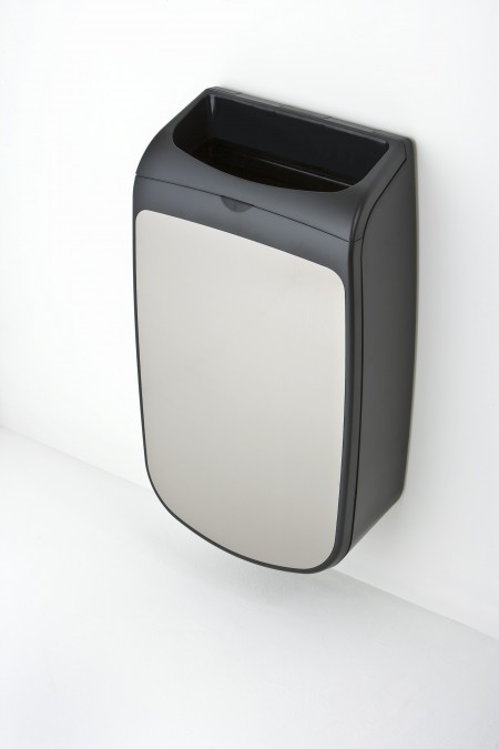 Mercury wall mounted trash can