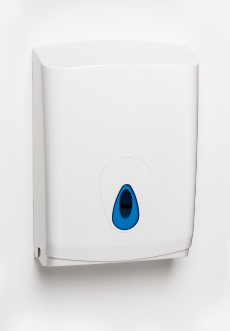 Large hand towel dispenser