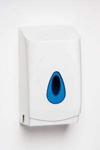 Multiflat toilet paper dispenser