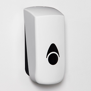 Myriad soap dispenser