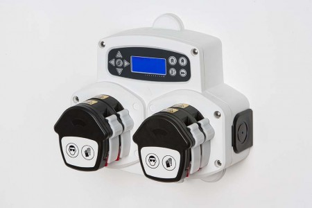 On-premise laundry dosing system 4 pumps