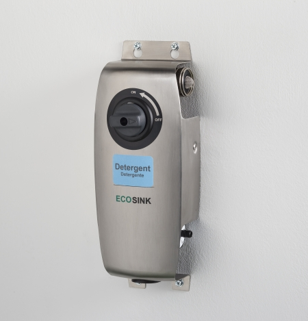 ECOSINK 1 Chemical Dispenser with labels