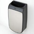 Mercury wall mounted trash can