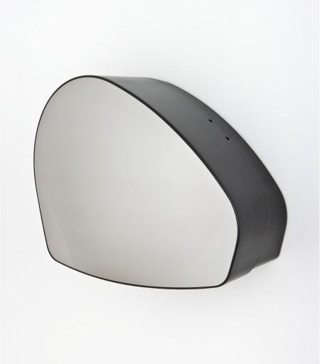 Jumbo toilet roll dispenser with stainless steel finish